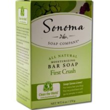 Sonoma Soaps Bar Soap- First Crush