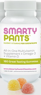 SmartyPants Gummy Vitamins for Grown-Ups