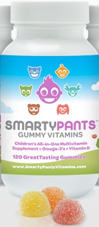 SmartyPants Gummy Vitamins for Kids